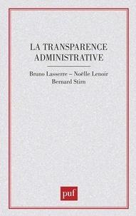 XXX - La transparence administrative.