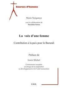 XXX - La voix d'une femme - Contribution à la paix pour le Burundi.