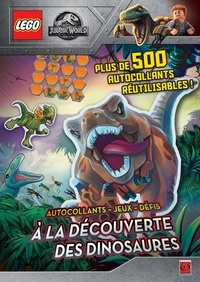 XXX - Lego jurassic world stickers a la decouverte des dinosaures.