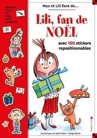 XXX - Lili fan de Noël : livre stickers.