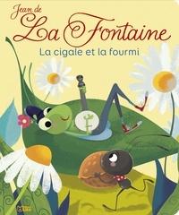 XXX et Chiara Nocentini - Livre fable cigale et fourmi.