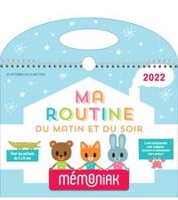 XXX - Ma routine du matin et du soir Mémoniak 2021-2022.