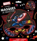 XXX - MARVEL - Pochette Les Ateliers - Masques à gratter.