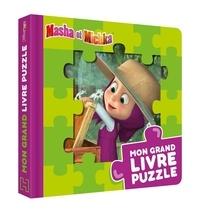 XXX - Masha et Michka - Mon grand livre puzzle.