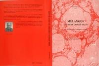 XXX - Melanges offerts a louis bazin par ses disciples et ses amis.