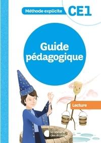 XXX - Méthode explicite - Lecture CE1 - Guide pédagogique - 2021.