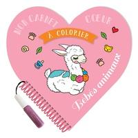 XXX - Mon carnet c ur à colorier Bébés animaux.