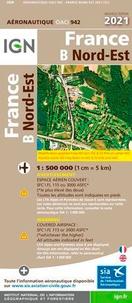 XXX - Oaci 942 nord-est - 1 : 500 000.