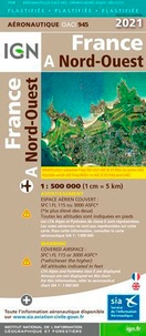 XXX - Oaci945 nord-ouest pelliculee - 1 : 500 000.