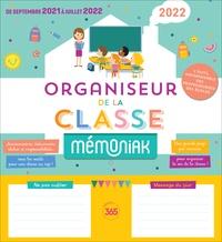 XXX - Organiseur de la classe Mémoniak 2021-2022.