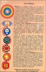 XXX - Planche des Chakras - 12x8 cm.