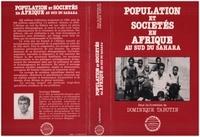 XXX - Population et societe en afrique au sud du sahara.