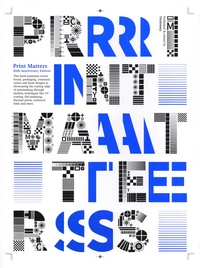 XXX - Print Matters 20th Anniversary Edition The Cutting Edge of Print /anglais.