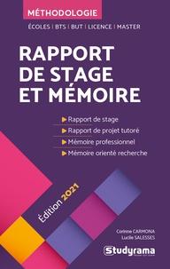XXX et Lucile Salesses - Rapport de stage et mémoire.