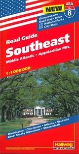 Road Guide Southeast- Middle Atlantic - Appalachian Mts. 1/100 000 -  XXX pdf epub