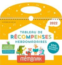 XXX - Tableau de récompenses hebdomadaires Mémoniak 2021-2022.