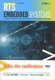 Y Trinquet et  Collectif - RTS Embedded Systems 2003.