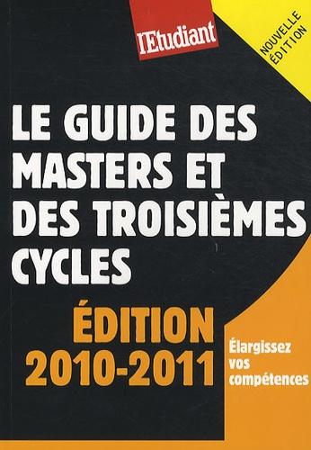 Yaël Didi et Violaine Miossec - Le guide des masters et des troisièmes cycles.