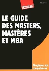Yaël Didi et Violaine Miossec - SERIE ETUDES  : Le guide des masters, mastères et MBA 11ED.