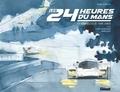 Yahn Janou et Frédéric Bourrigaud - Les 24 heures du Mans - 150 aquarelles de Yahn Janou.