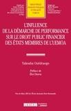 Yakouda Ouedraogo - L'influence de la démarche de performance sur le droit public financier des Etats membres de l'UEMOA.