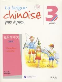 Deedr.fr La langue chinoise pas à pas 3 - Manuel caractère simplifié Image