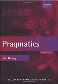 Yan Huang - Pragmatics.