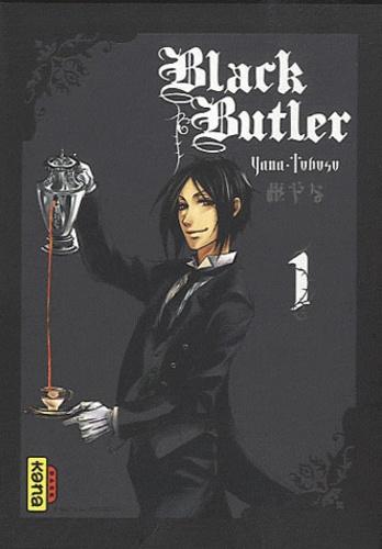 Yana Toboso - Black Butler Tome 1 : Coffret collector - Avec 5 cartes postales et 1 marque page.