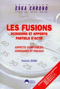 Deedr.fr Les fusions. Scissions et apports partiels d'actif, Aspects comptables, juridiques et fiscaux. Image