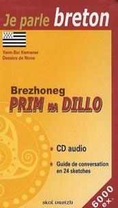 Yann-Ber Kemener - Brezhoneg Prim Ha Dillo - Le Breton au quotidien. 1 CD audio