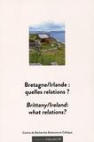 Yann Bevant et Laurent Daniel - Bretagne/Irlande : quelles relations ?.