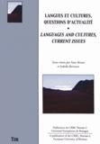 Yann Bevant et Isabella Borissova - Langues et cultures, questions d'actualité.
