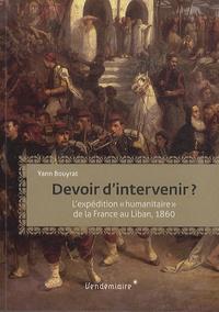 Devoir dintervenir ? - Lintervention humanitaire de la France au Liban, 1860.pdf