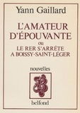 Yann Gaillard - L'Amateur d'épouvante ou le RER s'arrête à Boissy-Saint-Léger.