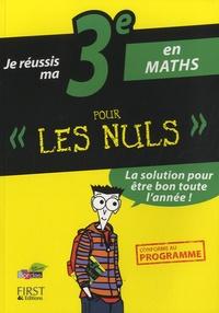 Je réussis ma 3e en maths pour les nuls - Yann Gélébart   Showmesound.org