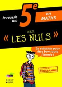 Accentsonline.fr Je réussis ma 5e en maths pour les nuls Image