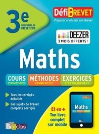 Yann Gélébart - Maths brevet 3e.