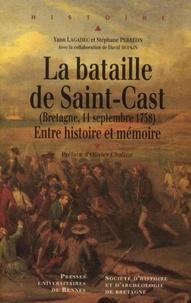 Téléchargement de livres pdf Rapidshare La bataille de Saint-Cast (Bretagne, 11 Septembre 1758)  - Entre histoire et mémoire (Litterature Francaise)