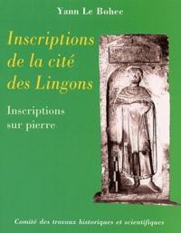 Yann Le Bohec - Inscriptions de la cité des Lingons - Inscriptions sur pierre.