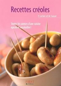 Yann Leclerc et Maryvonne Ssossé - Recettes créoles.