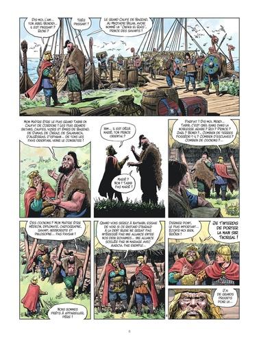 Les mondes de Thorgal : La jeunesse Tome 7 La dent bleue