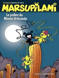 Yann et  Batem - Marsupilami Tome 4 : Le pollen du Monte Urticando.