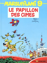 Yann et  Batem - Marsupilami Tome 9 : Le papillon des cimes.