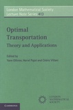 Yann Ollivier et Hervé Pajot - Optimal Transport - Theory and Applications.
