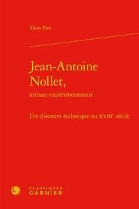 Jean-Antoine Nollet, artisan expérimentateur - Un discours technique au XVIIIe siècle.pdf