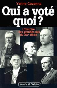 Qui a voté quoi ? Lhistoire des grandes lois du XXème siècle.pdf