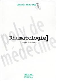 Yannick Allanore - RHUMATOLOGIE.