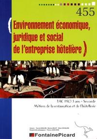 Environnement économique, juridique et social de lentreprise hôtelière 2e Bac pro 3 ans Métiers de la restauration et de lhôtellerie.pdf