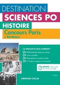 Yannick Clavé - Destination Sciences Po - Histoire Concours Paris + Bordeaux.