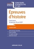 Yannick Clavé - Epreuves d'histoire - Concours Sciences Po et IEP.
